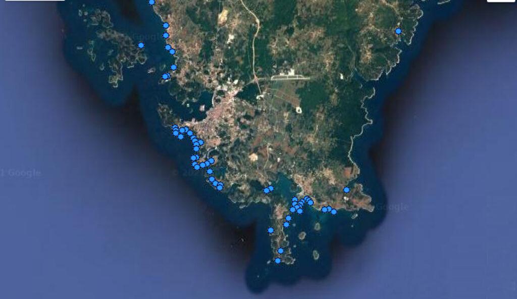 kakvoća mora u Južnoj Istri