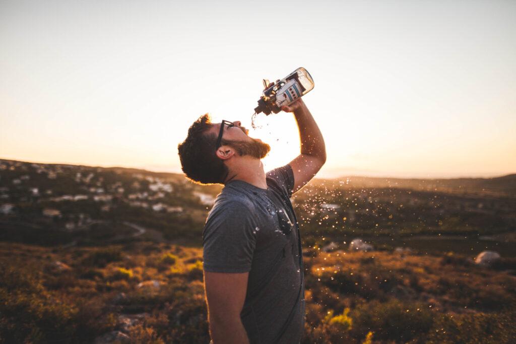dehidracija - hidracija
