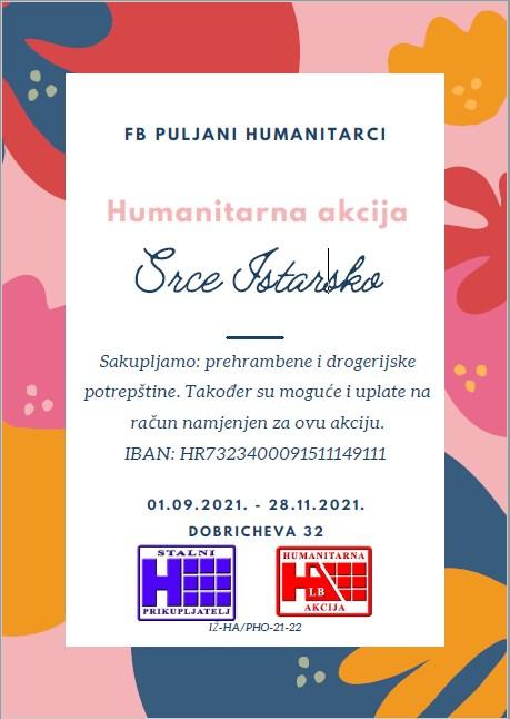 humanitarna akcija srce istarsko