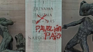 vandalski čin u Titovom parku - radio maestral