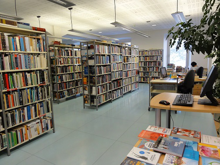 središnja gradska knjižnica pula